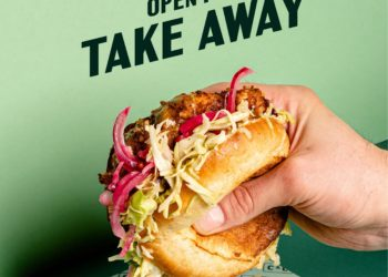 We're open for Take Away